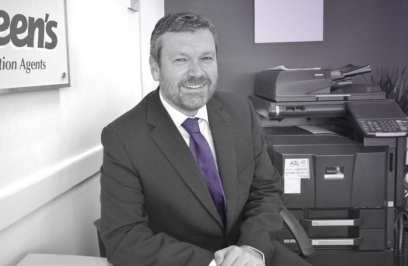Gary Sheen of Sheen's Estate Agents
