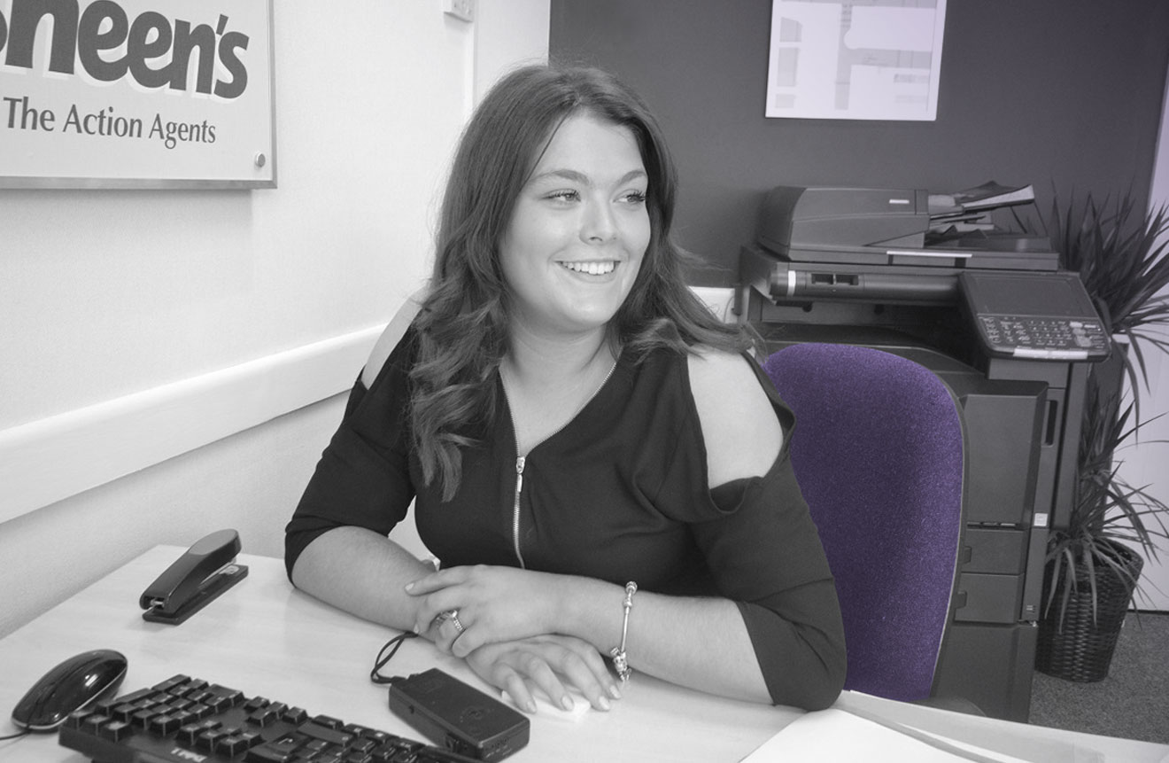 Georgia Purll of Sheen's Estate Agents