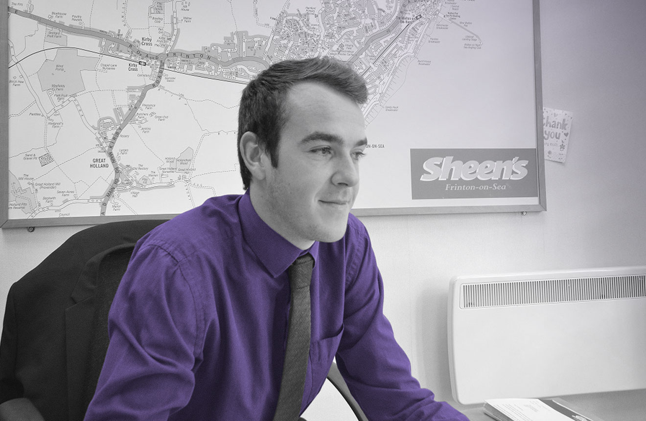 James Denyer of Sheen's Estate Agents